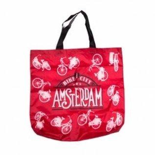 Opvouwbaar tasje Amsterdam