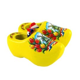 Geel souvenirs klompje