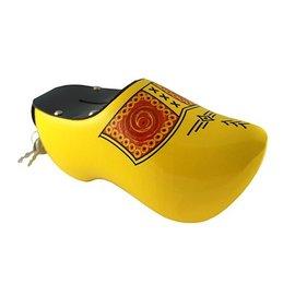 Yellow money box clog peasant
