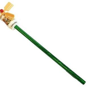 Bleistift mit einer weißen Windmühle