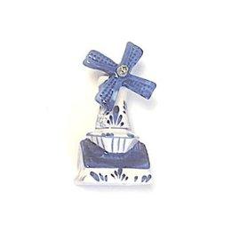 Delfts blauwe molen 8cm