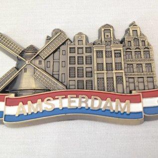 Magnet Amsterdam Gracht Metall