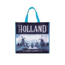 Einkaufstasche Delft blau