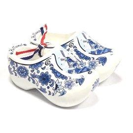souvenirs klompjes Delfts blauw 14cm