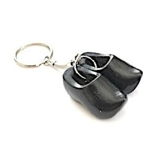 Keychain clog with text