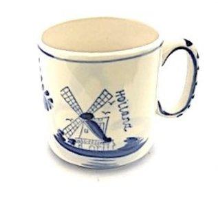 Delft blue mug