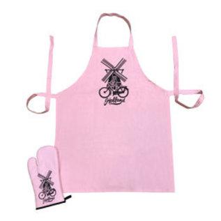 Roze keukenset