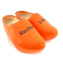 Children's wooden shoes Left / Right