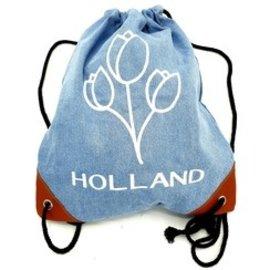 Backpack tulips