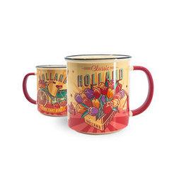 Mug vintage tulips