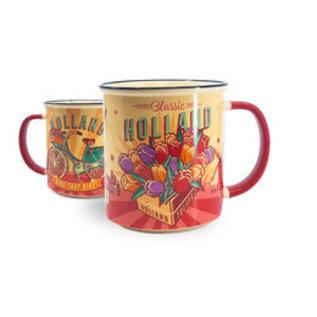 Tasse Vintage Tulpen