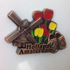 Magneet Amsterdam brons