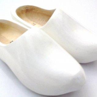 Houten klompen wit
