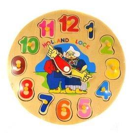 Holz Puzzle Uhr