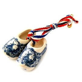 Brooch / corsage Clogs Delftware
