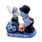 küssendes Paar delfts blau