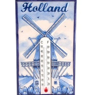 delfts blauw thermometer | Originele Delfts Blauwe thermometer met magneetje
