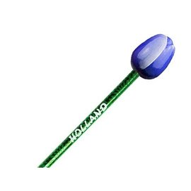 Blauwe houten tulp potlood