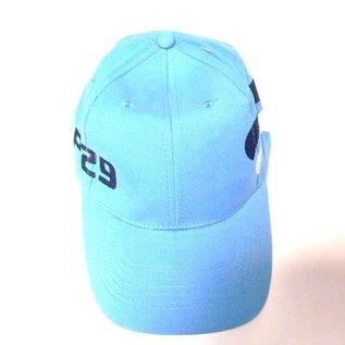 Kappe in hellblau