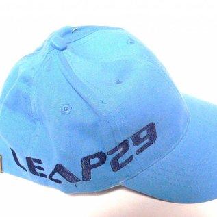 cap in light blue