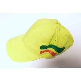 cap in light green