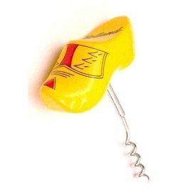 Gelbe Clog Korkenzieher