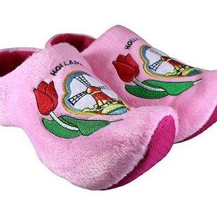 Clog slipperl holländische Mühle rose