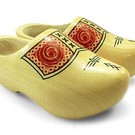 Dutch lacquered farmer wooden shoes