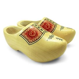 Farmers wooden shoes transparent