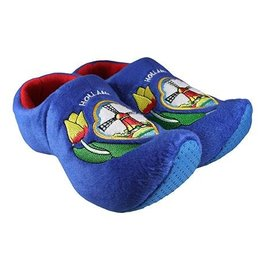 clog slipper dutch mill blue