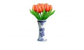 Een houten tulp, een bijzonder leuk geschenk