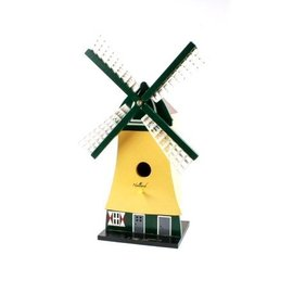 Birdhouse in the form of a windmill