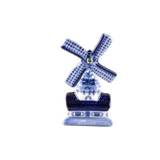 magnet Delfter Blau mit Dutch Mill