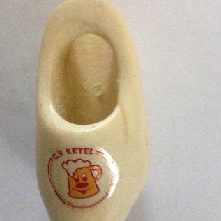 Dasklomp met logo 8 cm