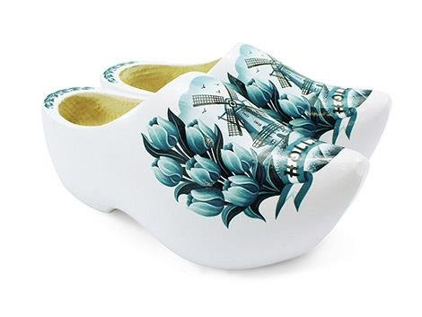 The most beautiful wooden shoes come from Holland!