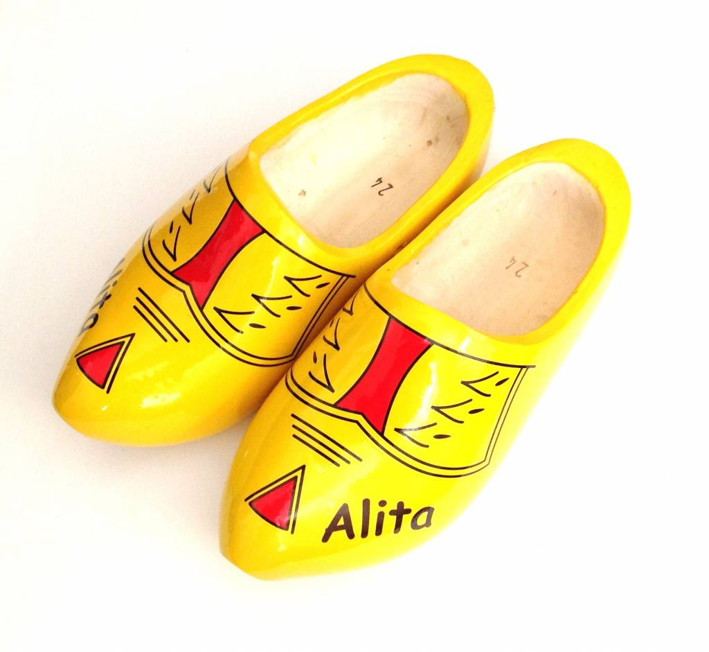 Woodenshoes With Name The Dutch Clog Store