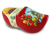 clog with little flower