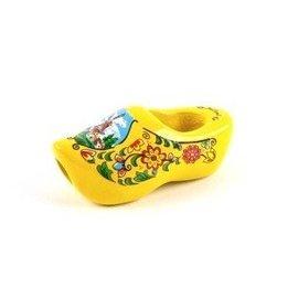 Dasklomp in de kleur geel