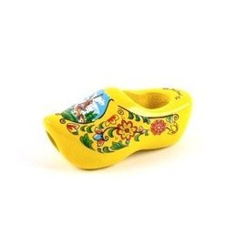 Tie Clog in yellow
