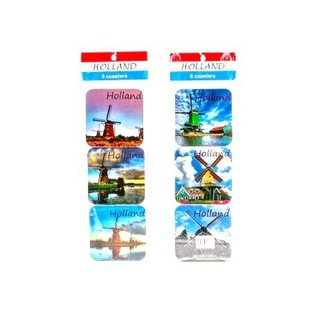 coasters Dutch windmill