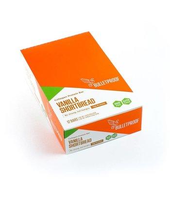 Bulletproof Vanilla Shortbread Collagen Protein Bars