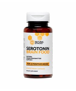 Natural Stacks Serotonin Brain Food