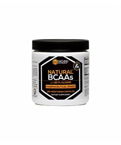 Natural Stacks Natural BCAAs caps