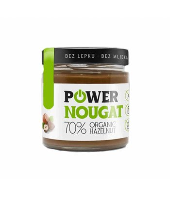 Powerlogy Power Nougat Hazelnootpasta