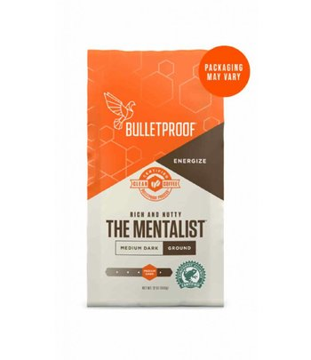 Bulletproof The Mentalist Dark Roast Ground Coffee 340 gram