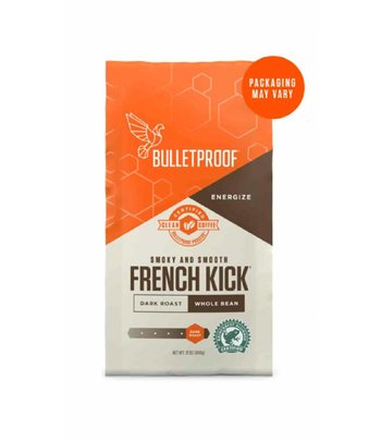 Bulletproof French Kick Dark Roast Kaffeebohnen 340 Gramm