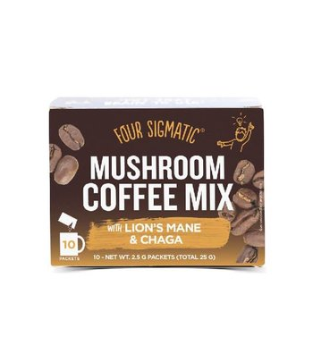 Foursigmatic Mushroom Coffee Lion's Mane en Chaga