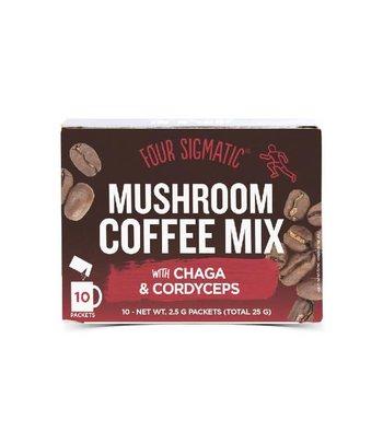 Foursigmatic Mushroom Coffee Cordyceps en Chaga