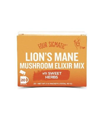 Foursigmatic Lion's Mane Mushroom Elixir Mix