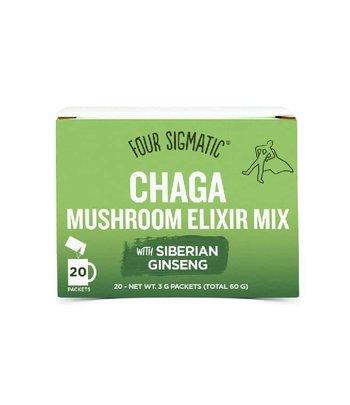 Foursigmatic Chaga Mushroom Elixir Mix